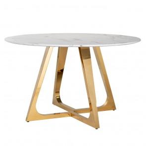 Jedálenský stôl Dynasty okrúhly 130Ø
