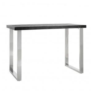 Barový stôl Blackbone strieborný 160