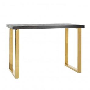 Barový stôl Blackbone zlatý 160