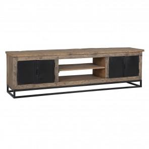 TV skrinka Raffles 4-dvierka, reyklované drevo