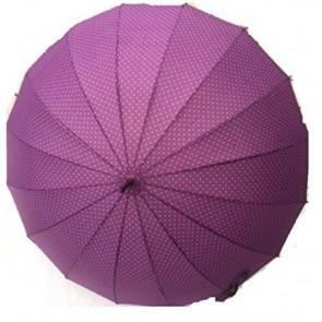 Dáždnik fialový, výška 88 cm