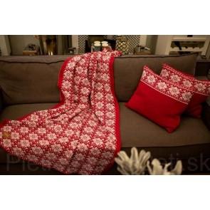 Deka Christmas červená, 115x180 cm