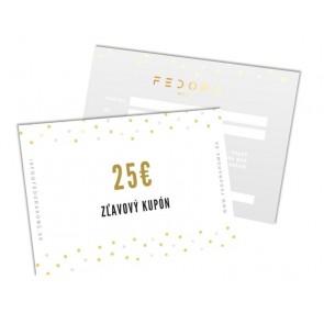 Darčekový poukaz 25€
