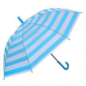 Dáždnik detský modrý, výška 74 cm