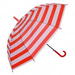 Dáždnik detský červený, výška 74 cm