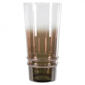 Váza sklenená dva odtiene skla