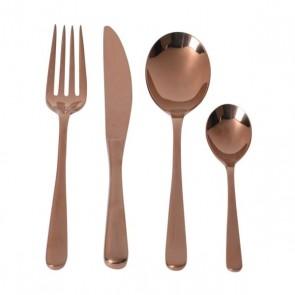 Set 24 ks rose gold príbor (stainless steel)